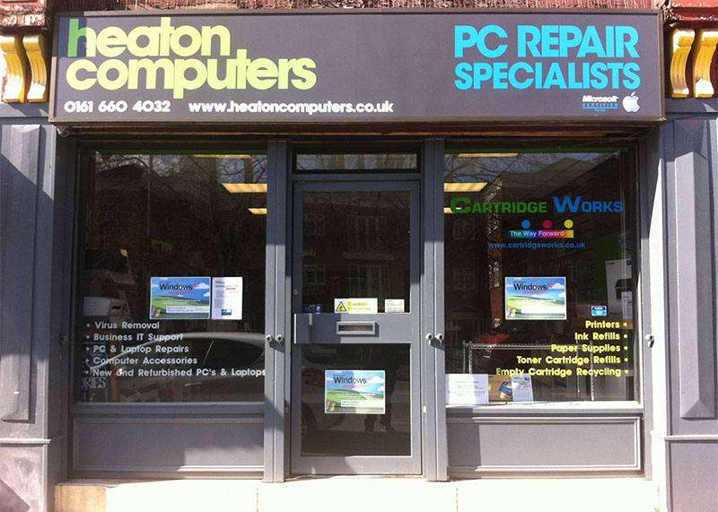 photo of Heaton Computers exterior in Heaton Moor, Stockport